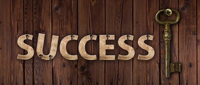 you are the key to success