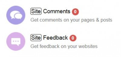 site feedback feature