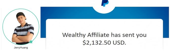 Making 4 figures per month with Wealthy Affiliate