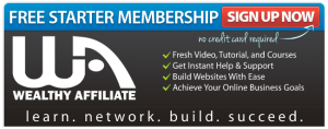 Wealthy Affiliate offer