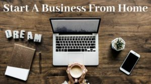 How to start a business from home