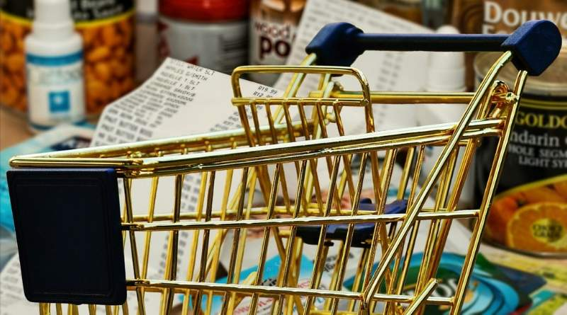 How to pay less for grocery. Shopping cart