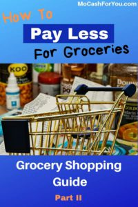 How to save on grocery shopping guide