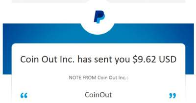 payment proof - paypal