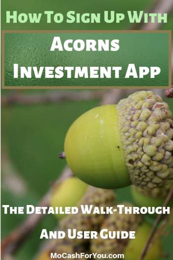 How to sign up with Acorns User guide