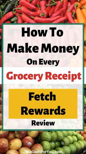 Fetch Rewards Review - make money on every receipt