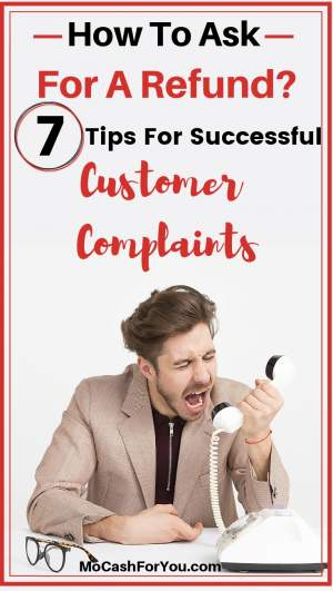 How To Get The money back? Complaining customer on phone
