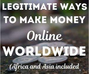 Make money online worldwide