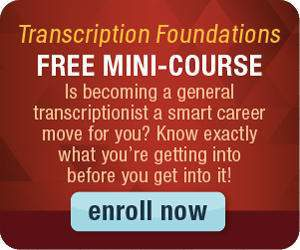 free transcription mini course
