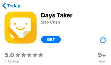 days taker app shell is used by iMoney